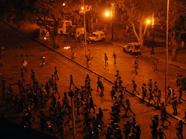 Egito protestos 4 (Foto: AP)