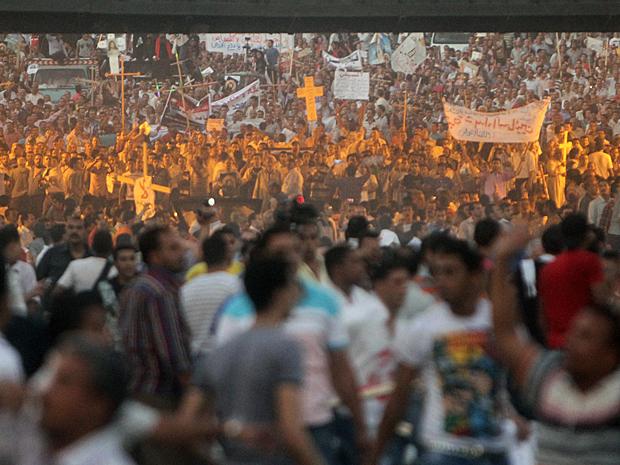 Egito protestos 5 (Foto: Ahmed Ali/AP)