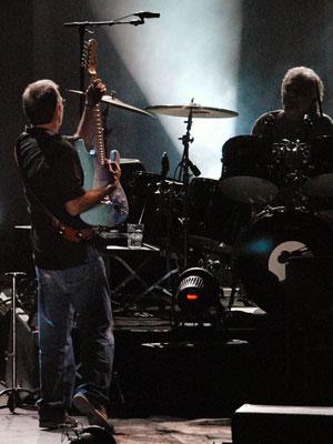 Eric Clapton no Rio (Foto: Alexandre Durão/G1)