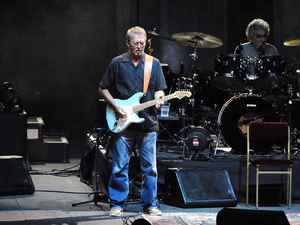 """Clapton começou o show com """"Going Down Slow"""" (Foto: Alexandre Durão/ G1)"""