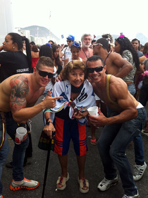 Parada Gay do Rio (Foto: Renata Soares/G1)