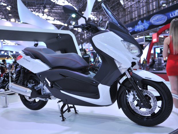 O Yamaha X-Max 250 tem motor monocilíndrico de 249,78 cm³ (Foto: Raul Zito/ G1)
