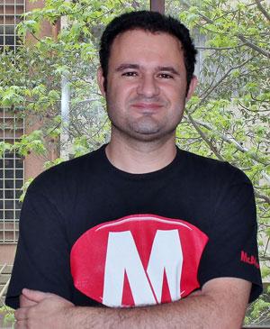 O analista de vírus Guilherme Vênere, da McAfee (Foto: Divulgação)