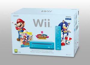 G1 - Nintendo lançará Wii na cor azul com game que une Mario e Sonic Er Console Wii on