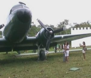 Avião Cinema (Foto: Reprodução/TV Amazonas)