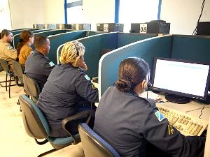 Centro Integrado de Operações de Segurança (Ciops), em Campo Grande (Foto: Divulgação/Sejusp)