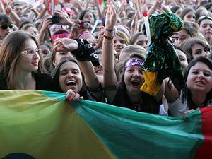 Fãs de Porto Alegre se despedem do cantor em último show no país (AE)