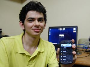 Erisvaldo Júnior é o diretor executivo e de tecnologia da empresa (Foto: Krystine Carneiro/G1)