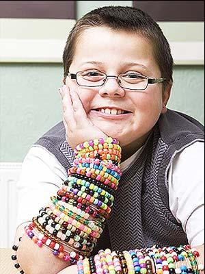 O menino Harry Moseley (Foto: Cancer Research UK)