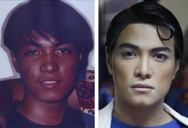 Filipino Herbert Chavez, de 35 anos, realizou várias cirurgias plásticas desde 1995. (Foto: Cheryl Ravelo/Reuters)