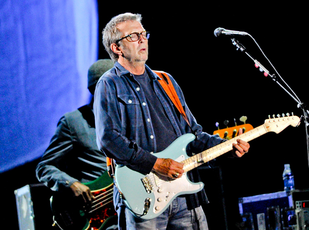 Eric Clapton - SP (Foto: Raul Zito/G1)