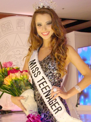 Isabella disputou o concurso com outras 40 candidatas de vários países. (Foto: Divulgação BMW eventos)