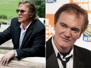 O ator Don Johnson (esq.) e o diretor Quentin Tarantino (Foto: Divulgação/Reuters)