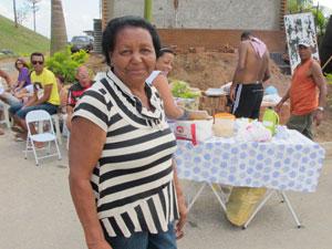 Iracema é quem organiza a excursão (Foto: Raphael Prado/G1)