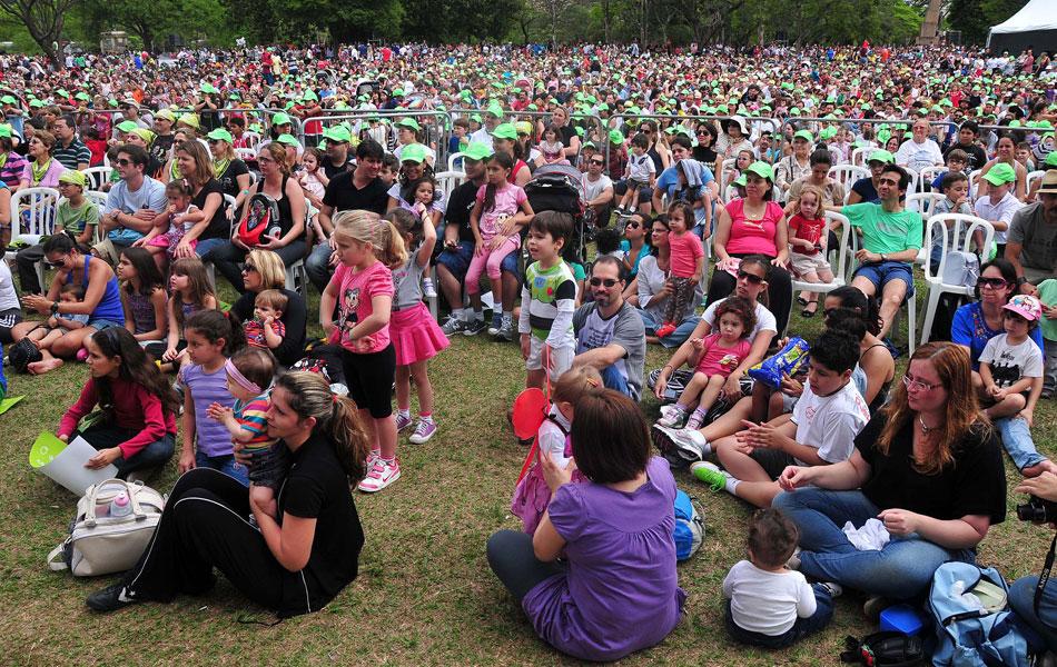 Veja fotos da celebração do Dia das Crianças pelo Brasil (Eduardo Enomoto/News Free/AE)