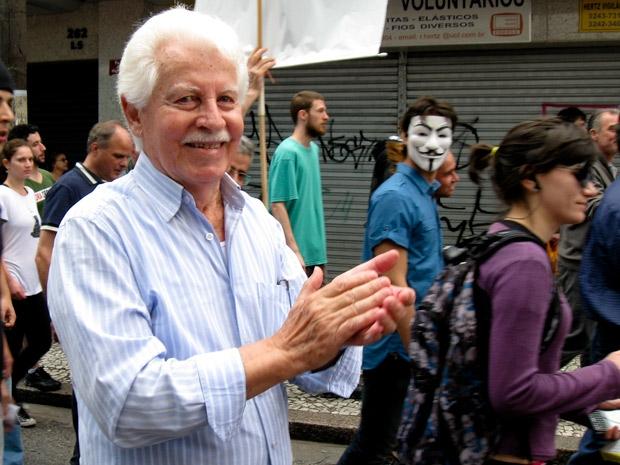Nelson Koerich é funcionário público em Curitiba (Foto: Samuel Nunes/ G1 PR)