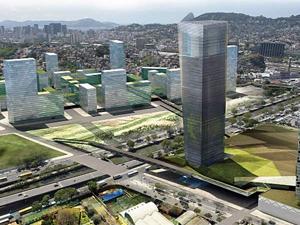 Área da Avenida Francisco Bicalho será modificada após obras do programa (Foto: Divulgação/Cdurp)