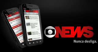 aplicativo globo news android (Foto: Globo News)