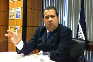 O ministro do Trabalho, Carlos Lupi (Foto: Mariana Oliveira / G1)
