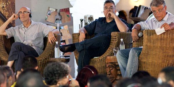 Bob Stein participa de mesa sobre livro digital no penúltimo dia da Flica (Foto: Vinicius Xavier)