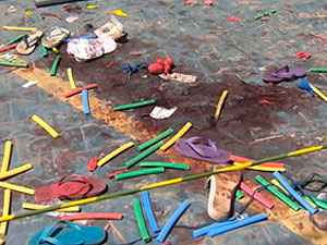 Vítimas de acidente com caminhão estavam em festa infantil em Itaparica (Foto: Reprodução/ TVBA)