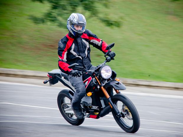 Zero DS é a moto elétrica mais potente do Brasil (Foto: Raul Zito/ G1)
