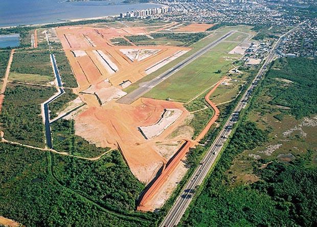 aeroporto de vitória (Foto: Jornal A Gazeta / Divulgação Infraero)