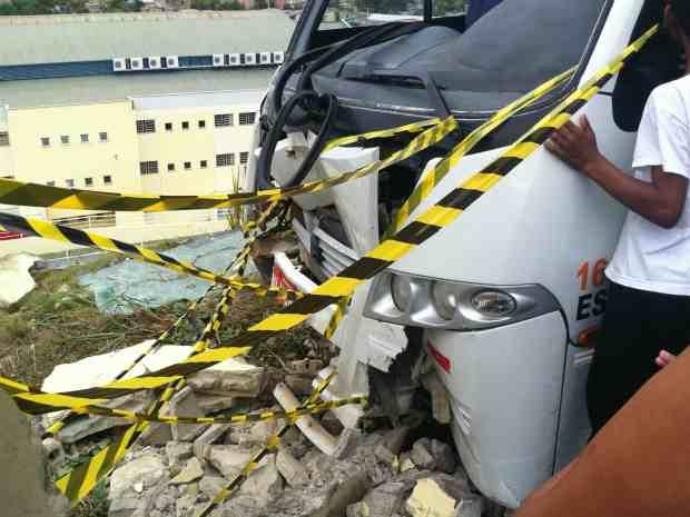 Acidente Escola Manaus 1 620 (Foto: Carlos Eduardo Matos/G1 AM)
