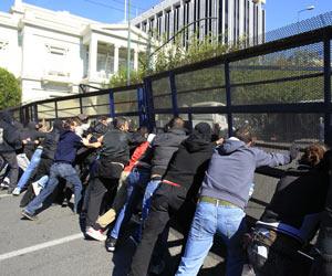 Greve geral na Grécia (Foto: Thanassis Stavrakis/AP)