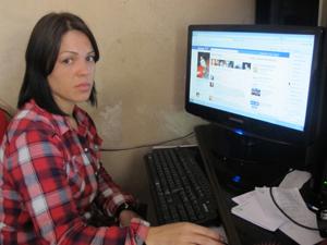 karina facebook (Foto: Juliana Cardilli/G1)