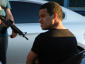 Traficante Polegar é preso no Paraguai (Foto: Divulgação/Secretaría Nacional Antidrogas Dirección de Comunicación Social)