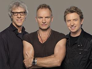 Stewart Copeland, Sting e Andy Summers, do The Police (Foto: Divulgação)