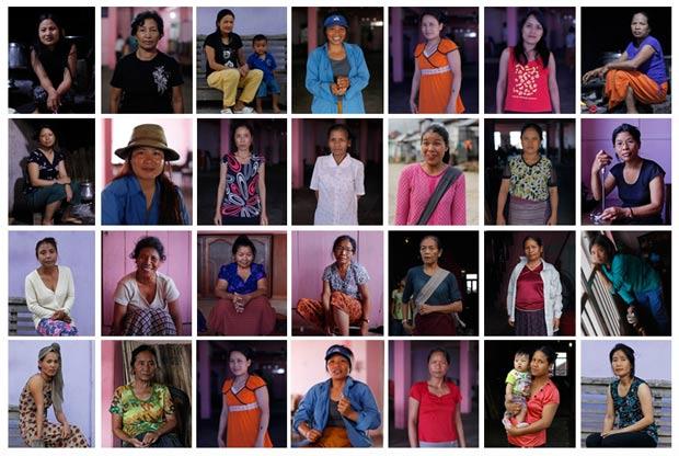 Imagens mostram 28 das 39 mulheres de Ziona. (Foto: Adnan Abidi/Reuters)