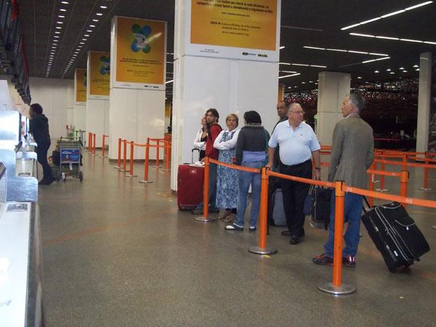 bsb Em greve, aeroportos de SP e DF têm operação normal para passageiros