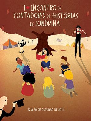 Encontro reúne contadores de histórias em Londrina (Foto: Divulgação)