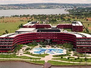 Hotel Golden Tulip, em Brasília, um dos mais modernos do parque hoteleiro de Brasília (Foto: Reprodução)