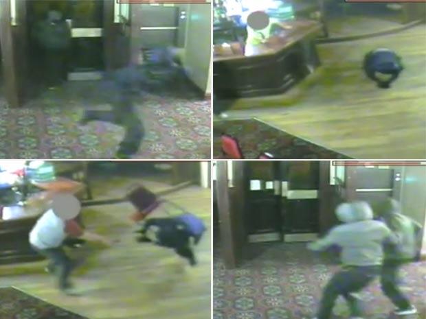 Trio se deu mal ao tentar roubar um bar em Timperley. (Foto: Reprodução)
