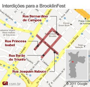 Resultado de imagem para brooklin fest mapa