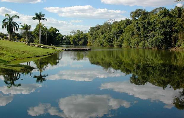 Criado em 2005, o Jardim Botânico tem uma área de 109.655m² (Foto: Divulgação/Amma)