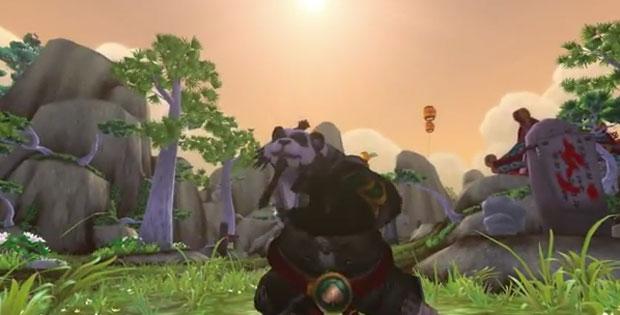 'Mists of Pandaria' traz a nova raça Pandaren para 'World of Warcraft' (Foto: Divulgação)