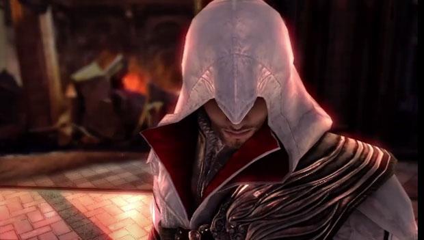 Ezio sai da Itália renascentista e se torna lutador de 'SoulCalibur V' (Foto: Divulgação)