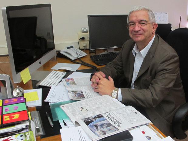 Fernando Ferreira Costa é médico e reitor da Unicamp (Foto: Vanessa Fajardo/G1)
