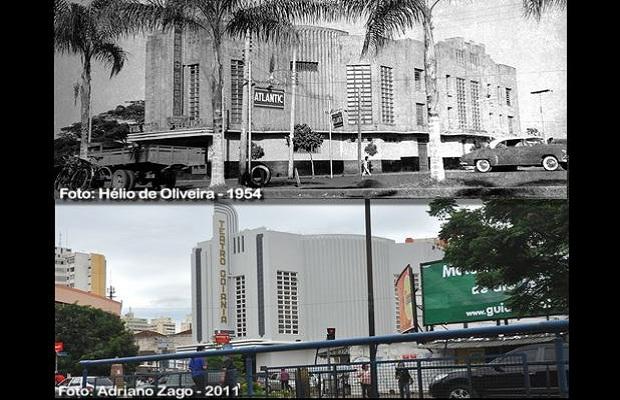 Comparativo do Teatro Goiânia para o aniversário da capital  (Foto: Adriano Zago - Hélio de Oliveira)
