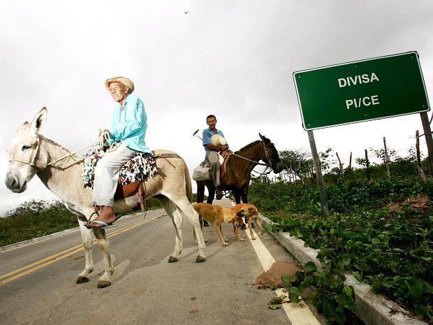 Ação no STF acirra disputa entre Ceará e Piauí por área de divisa (Foto: Patrícia Araújo/Agência Diário)