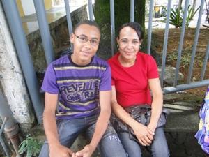 Enem mãe e filha - salvador (Foto: Tatiana Dourado/G1BA)