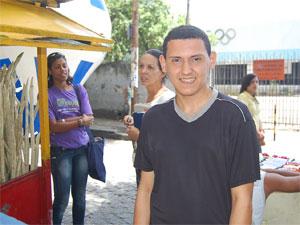 Guilherme Martins, candidato ao Enem no Recife (Foto: Vanessa Bahé/G1)