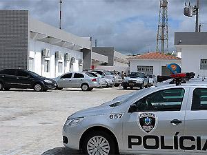 Central de Polícia de Campina Grande (PB) (Foto: José Marques/Secom-PB)