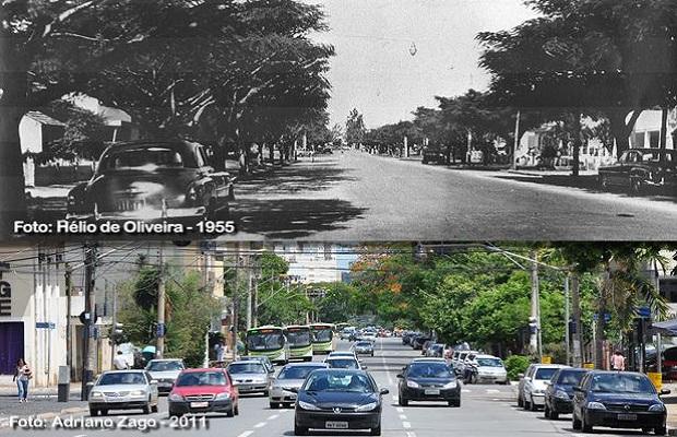 Avenida Tocantins, Goiânia (Foto: Hélio de Oliveira e Adriano Zago)