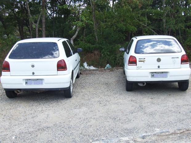 Polícia apreende carro clonado na Paraíba (Foto: Divulgação/PRF)