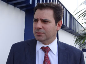 Juiz Éder Jorge (Foto: Luna Markman/G1)